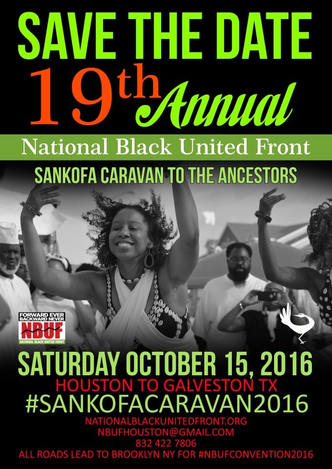 19th Annual Sankofa Caravan to the Ancestors