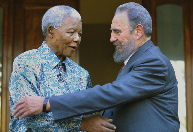 Former South African president Nelson Ma